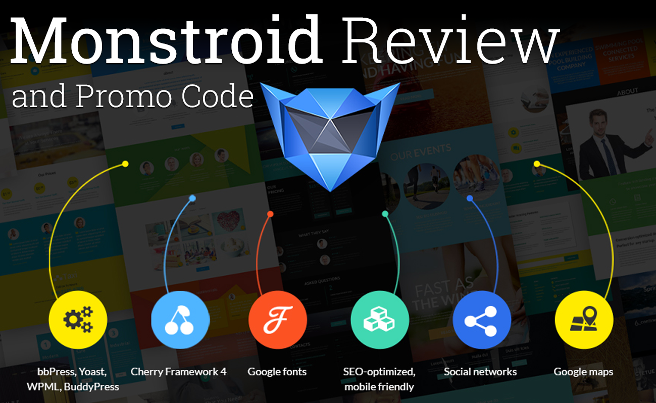 monstroid review and template monster discount code